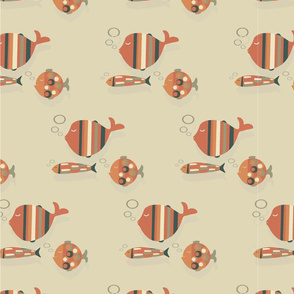 60´s orange fish