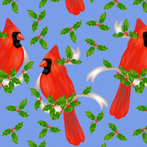 Deck the birds with boughs of holly