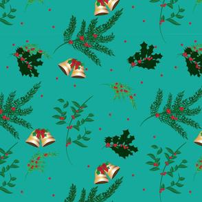 Christmas wall paper-02