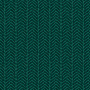 Halloween HerringBONE - Green