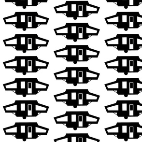 Black Pop Up Fabric