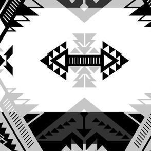 Sovereign Nation Black and White