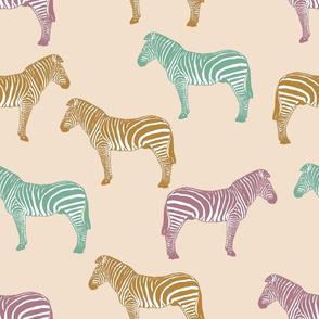 Zebra (earth tones)