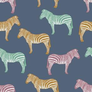 Zebra (dark earth tones)