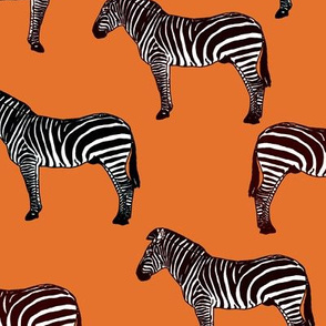 Zebra (orange)