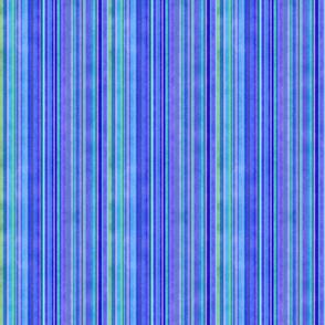 Stonewashed Multicolored stripe, blues