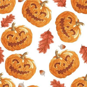 Autumn Jack-O-Lanterns