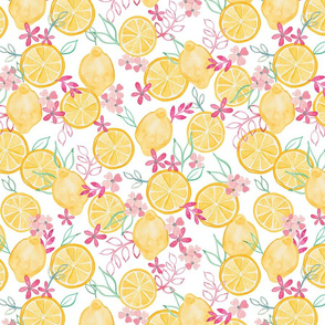 Lemons and Pinks (Smaller Scale)