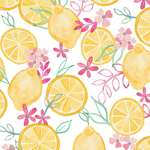 Lemons and Pinks (Larger Scale)