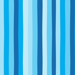 Off Kilter Stripes, Blues