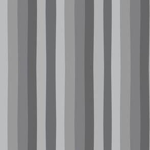 Off Kilter Stripes, Grays