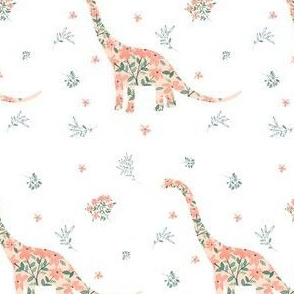 "4"" Floral Dino"