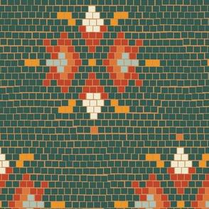 Vintage Tile Green