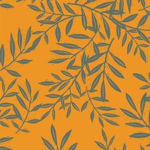 Block Foliage Gold