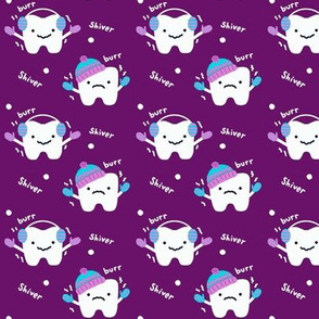 Sensitive to the Cold! -Tooth/Dental - Purple
