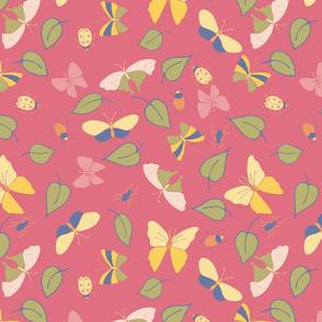butterflies-bugs-leaves