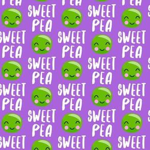 (small scale) Sweet Pea - Purple - Cute Food - LAD19BS