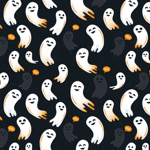 Spooktacular Ghosts - Embroidery Details