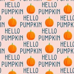 Hello Pumpkin - pink - LAD19