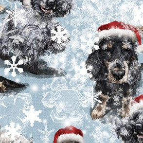 The Christmas Cocker Spaniel