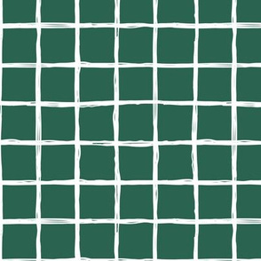 Christmas time abstract geometric checkered stripe trend pattern grid forest green