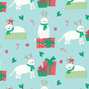 Holiday Deer Cats