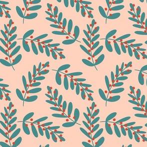 Pastel Winter Flora