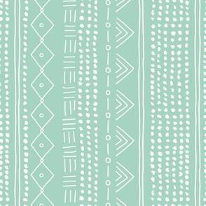 Christmas minimal mudcloth bohemian mayan abstract indian summer love aztec christmas mint green