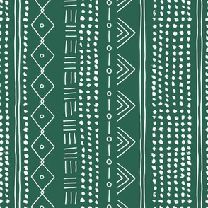 Christmas minimal mudcloth bohemian mayan abstract indian summer love aztec christmas forest green