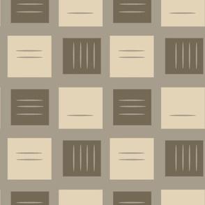 retro squares in neutral