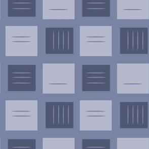 retro squares in slate