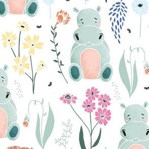 happy hippo meadow