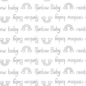 Rainbow Baby Grey