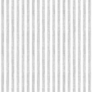 Grey Linen Stripe