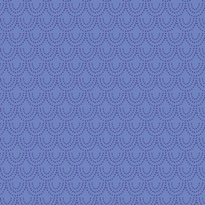 Dotted Scallop - Purple