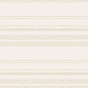 FRENCH LINEN WOVEN STRIPE NEUTRAL MAVIS