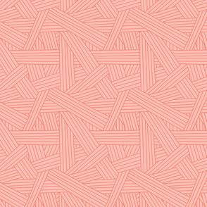 Crossing Lines in Pink