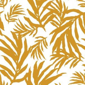 "6"" Gold Palm Fronds"