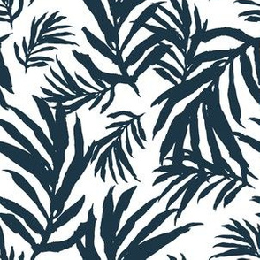 "6"" Navy Palm Fronds"