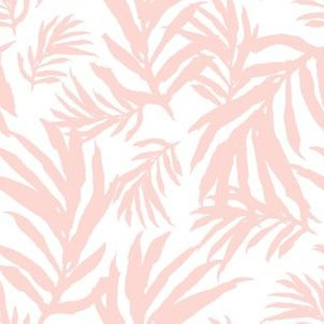 "6"" Pink Palm Fronds"