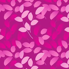 Layered purple leaves