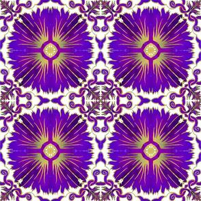 Azulejos - Portuguese Tiles Purple