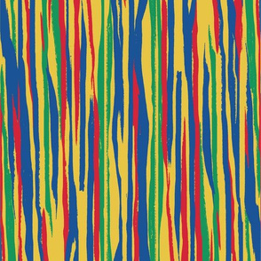 Painted Stripe - Primary