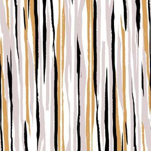 Painted Stripe - White