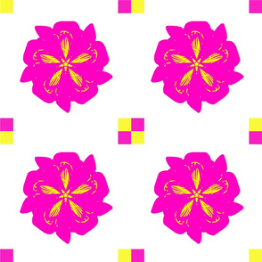 Pink Fizz Funky Flowers