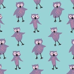 owls by rysunki_malunki