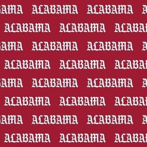 alabama - gray and crimson, alabama fabric - sport, sports, tailgate, football, american football