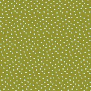dots on green