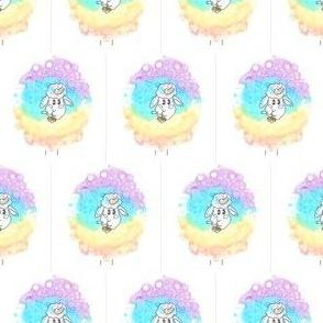 Rainbow Unicorn Sheep