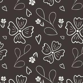 May Flowers - Brown